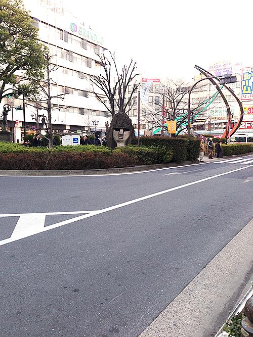 蒲田モアイ