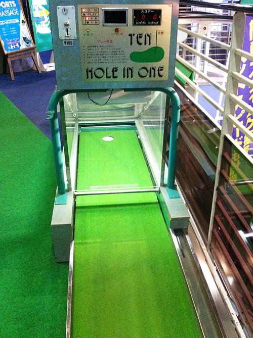 ホールインワン ゴルフ ゲーム