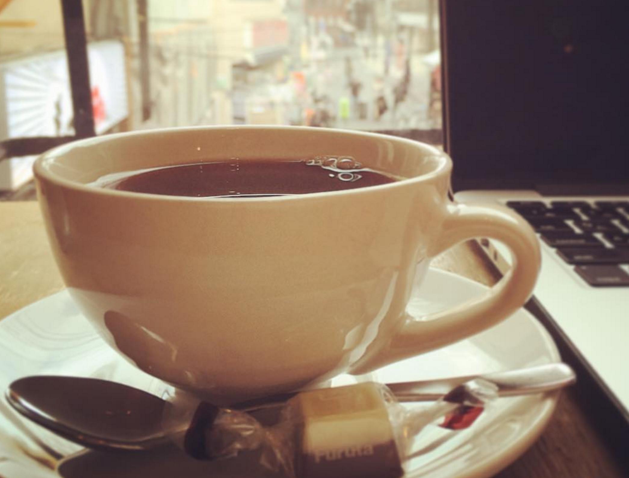 カフェのはしごですごした日曜日