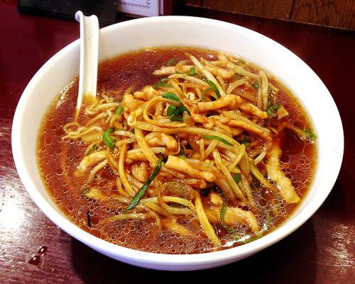 チンジャオロースー麺