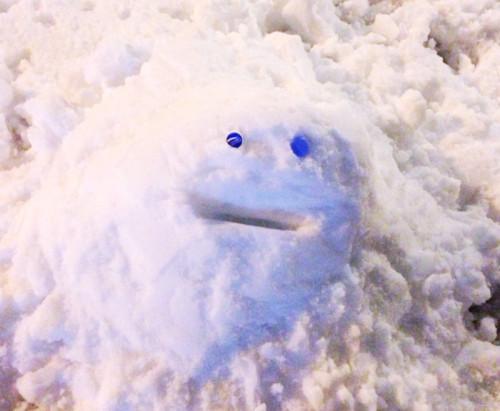都内初雪豪雪