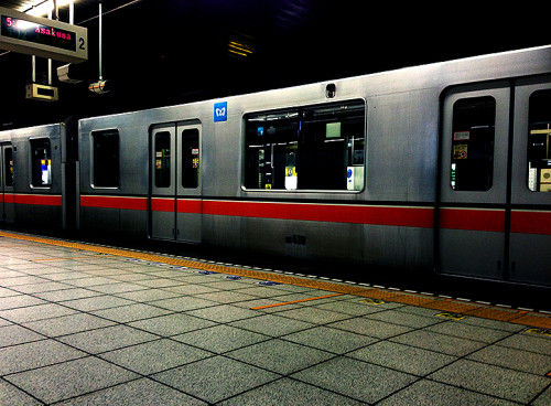 銀座線 始発 電車