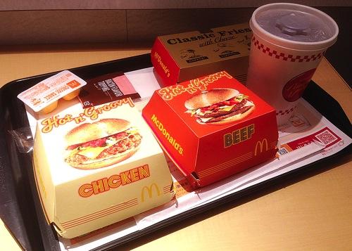 マクドナルド 試食会