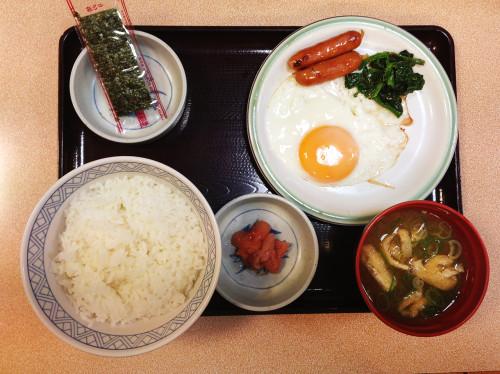 らんぷ亭朝食